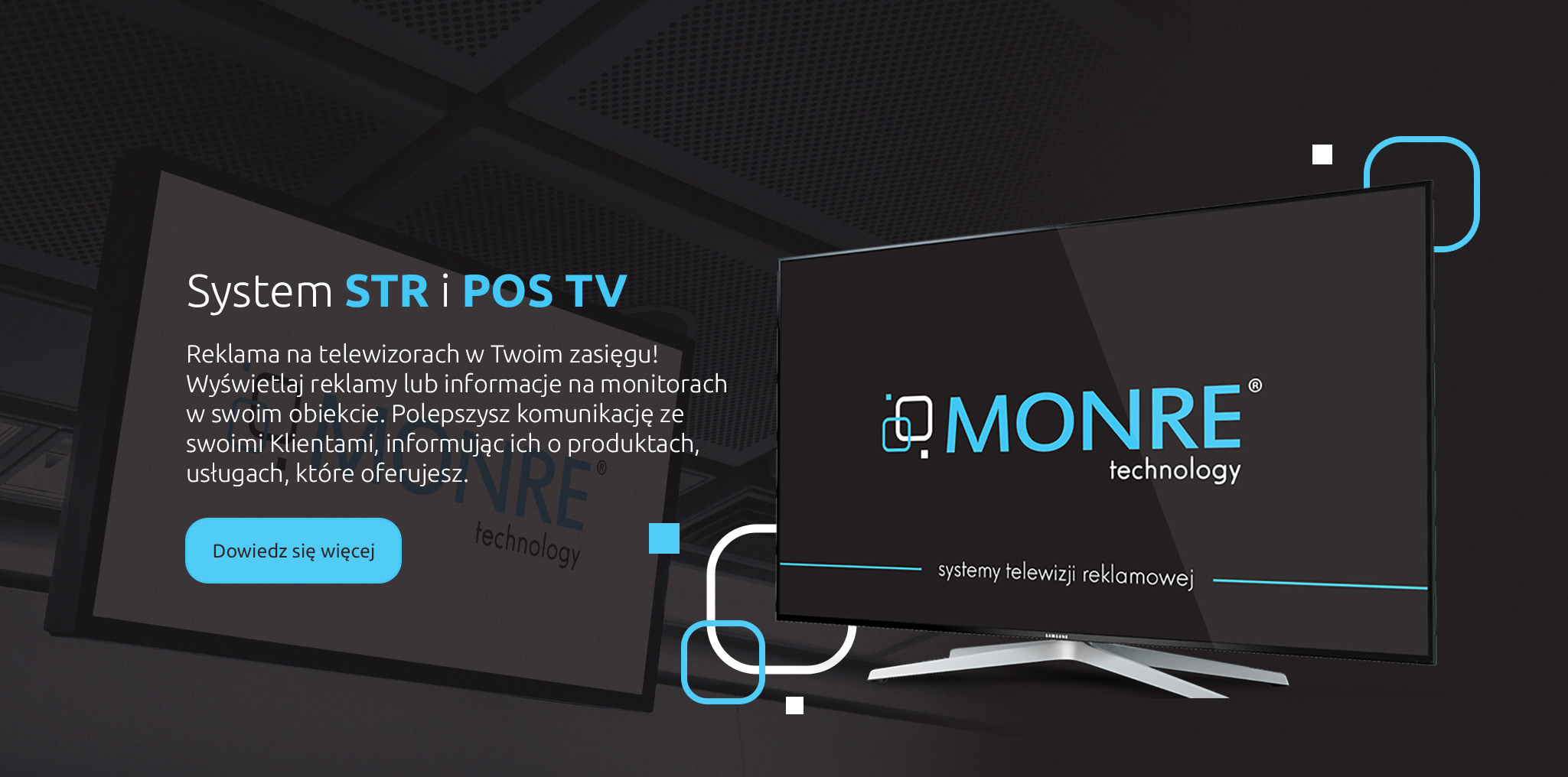 MONRE Technology - System Telewizji Reklamowej