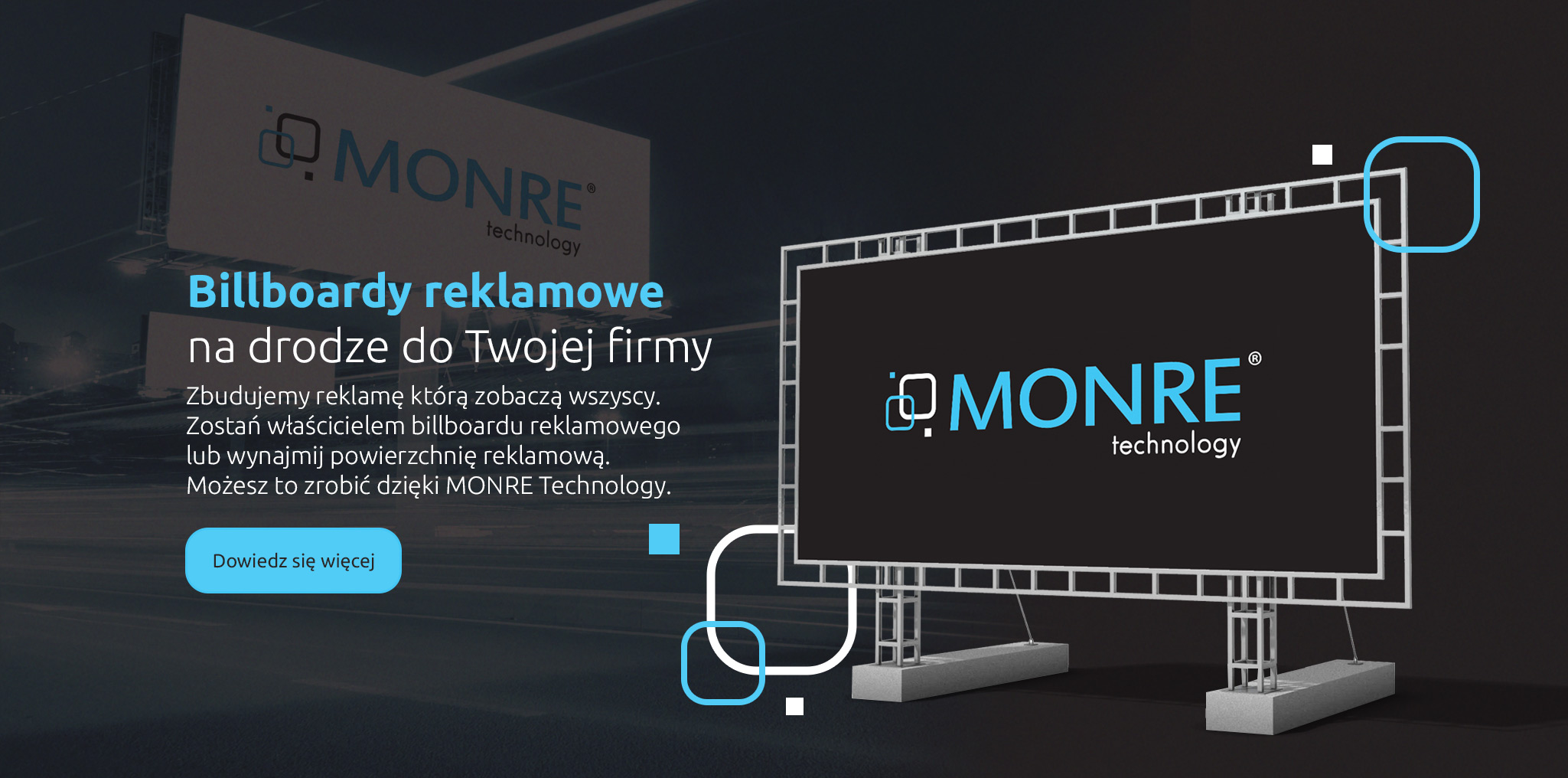 MONRE Technology - Billboardy reklamowe